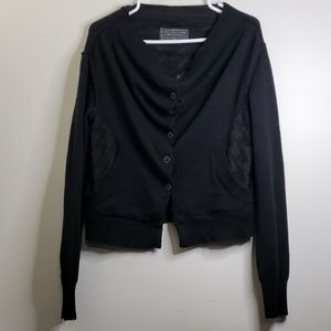 All Saints Spitalfields Black Sweater Size 10